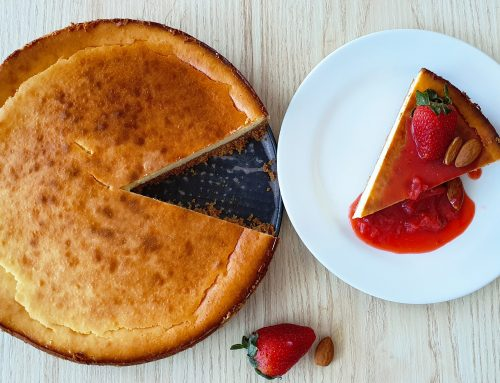 How to make an easy Classic Baked Cheesecake