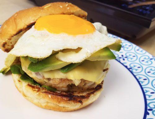 Making the perfect, juicy pork burger