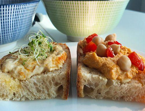 Making Healthy Hummus: 2 Variations